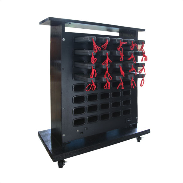 音声ガイド充電器40台用