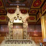 ヤンゴン博物館獅子の玉座
