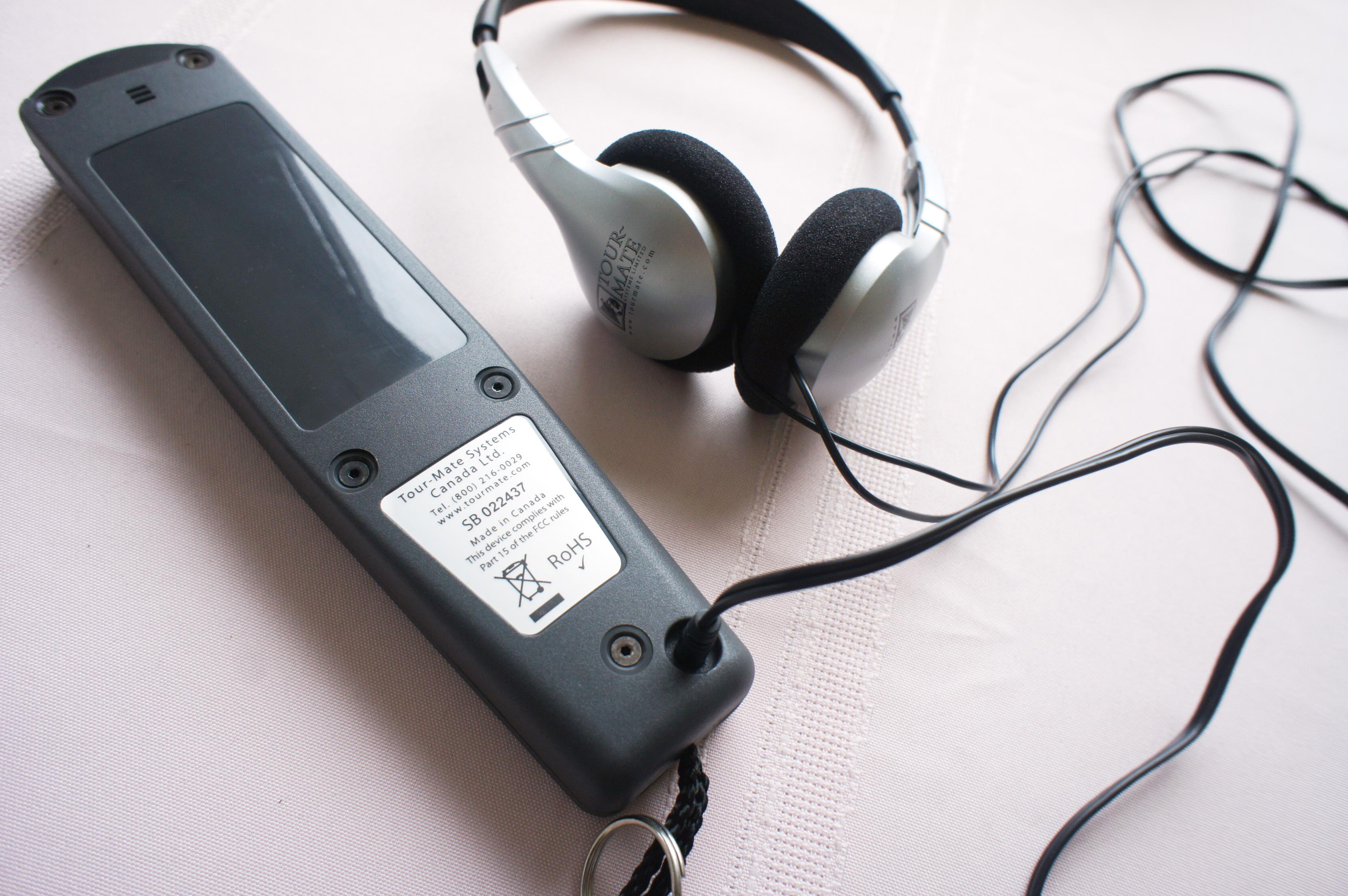 音声ガイドSC600